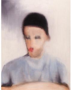 Le jeune penseur, 2006. Acrylique sur toile, 145 x 112 cm.