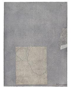 Kaishi IV, 2018. , technique mixte 40 x 32 cm