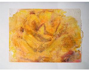 11 bis, 2003. Acrylique sur papier, 23 cm x 31 cm.