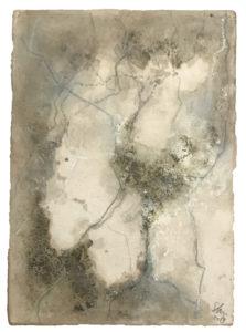 Petite géographie, 2019. Peinture à l'huile.