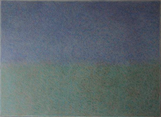 Crayons de couleur, 110 x 150 cm, 2021