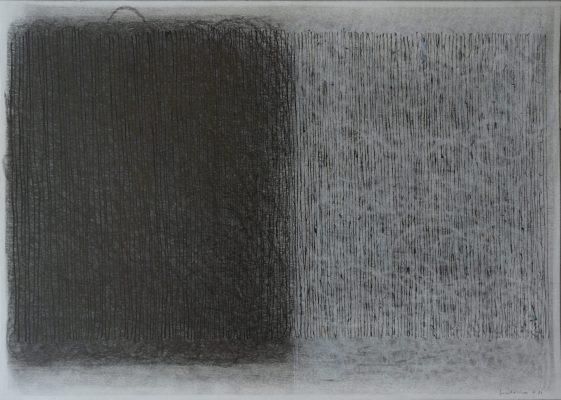 Crayons de couleur, 30 x 42 cm, 2021