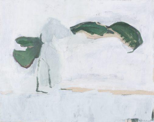 Scène végétale I 73 x92 cm, 2020