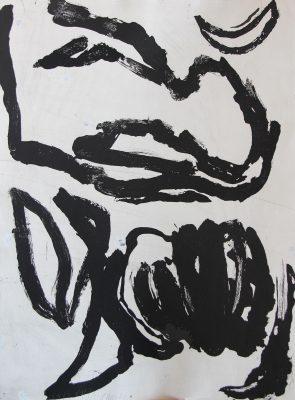 Série: Pour le Sonnet XIV de William Shakespeare, 1989. Gravure Eau forte, 75 x 56 cm