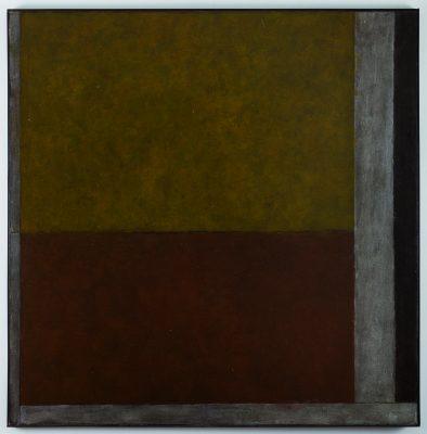 Huile sur toile, 120 x 120 cm, 1979.